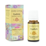 Lively Living Lively Living Organic Essential Oil 10 ml Positivity