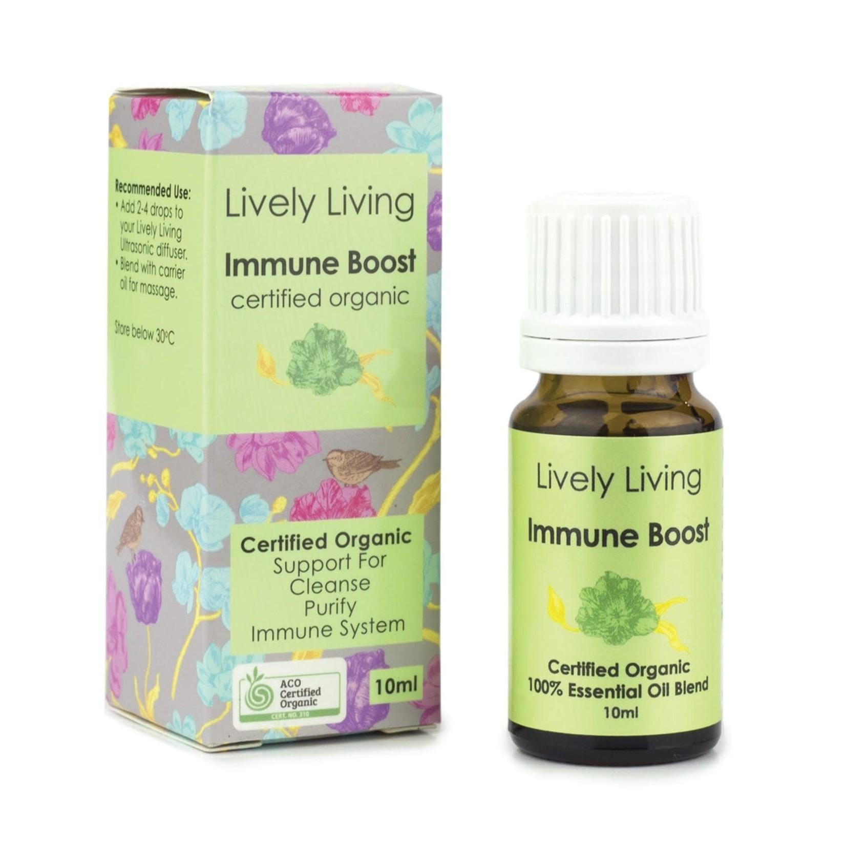 Lively Living Lively Living Organic Essential Oil 10 ml Immune Boost