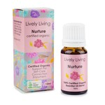 Lively Living Lively Living Organic Essential Oil 10 ml Nurture
