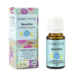Lively Living Lively Living Organic Essential Oil 10ml Breathe Blend