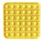Family Products Australia POP IT Sensory Fidget toy Yellow Square