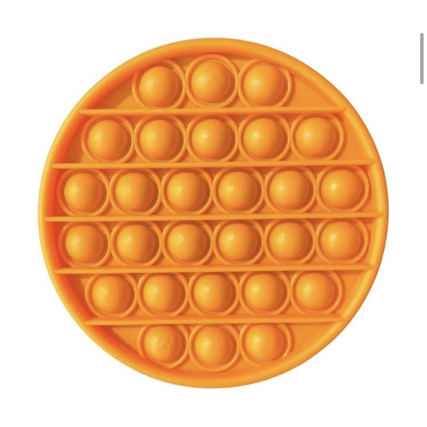 Family Products Australia POP IT Sensory Fidget toy Orange Circle