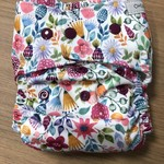 """Oh Sew Creative Oh Sew Creative """"Wild Floral"""" Single Row Nappy"""