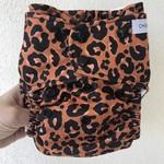 """Oh Sew Creative Oh Sew Creative """"Leopard Double Row Nappy"""