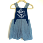 Penny's Pieces Penny's Pieces Flying Ship Overalls