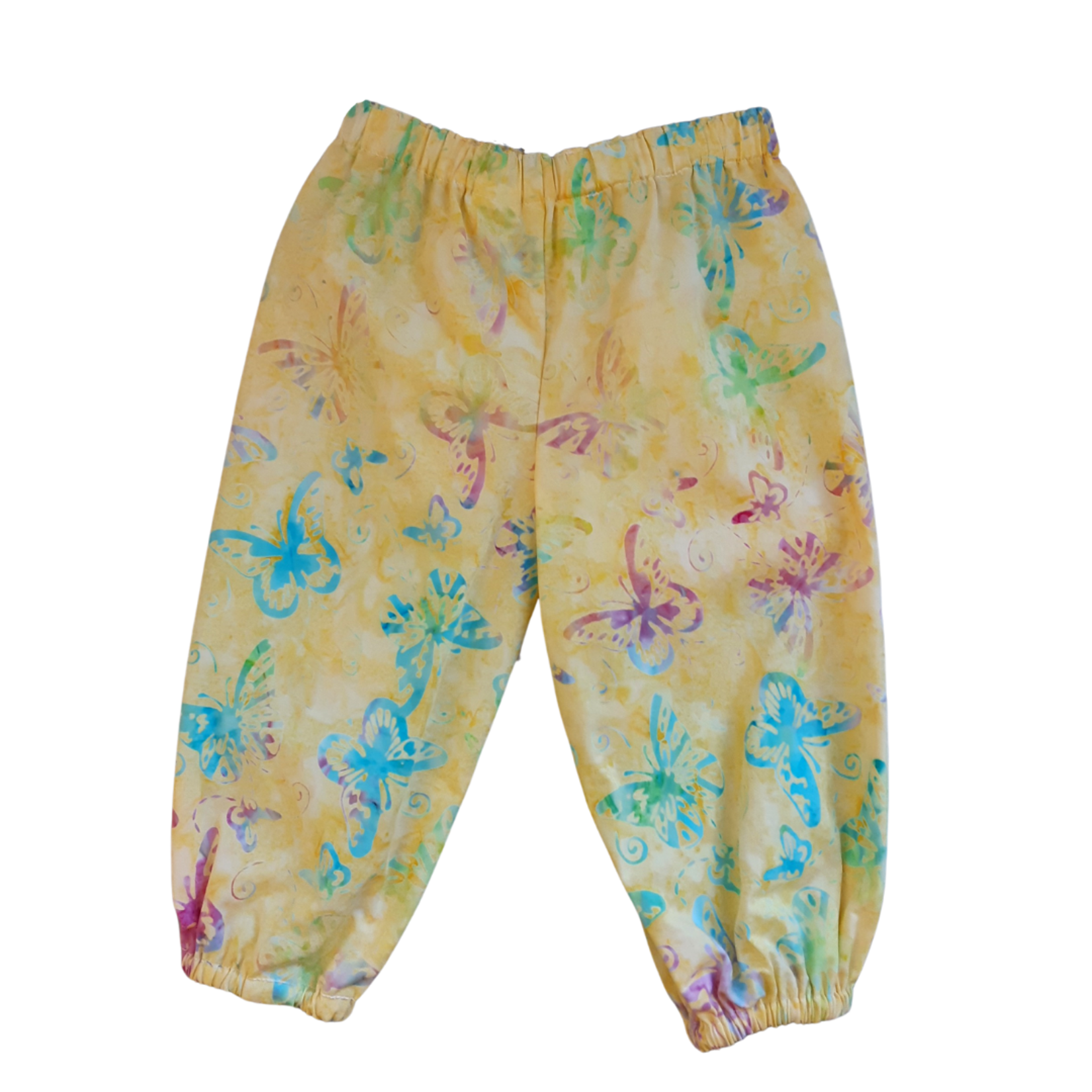 Cadby Cottage Cadby Cottage Lazy Dayz Pants Yellow Butterflies