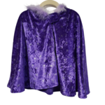 Wacky Wardrobe Wacky Wardrobe Cape Purple Star - Small