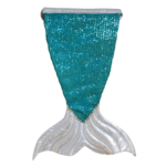 Wacky Wardrobe Wacky Wardrobe Bling Mermaid Tail Turquoise Small