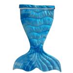 Wacky Wardrobe Wacky Wardrobe Mermaid Tail Blue Small