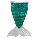 Wacky Wardrobe Wacky Wardrobe Bling Mermaid Tail Green Small