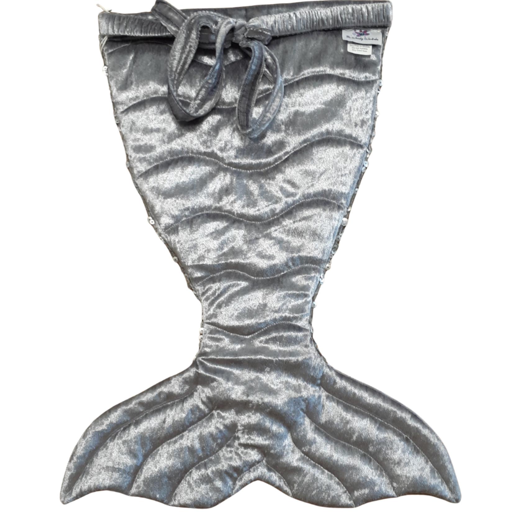 Wacky Wardrobe Wacky Wardrobe Bling Mermaid Tail Silver Small