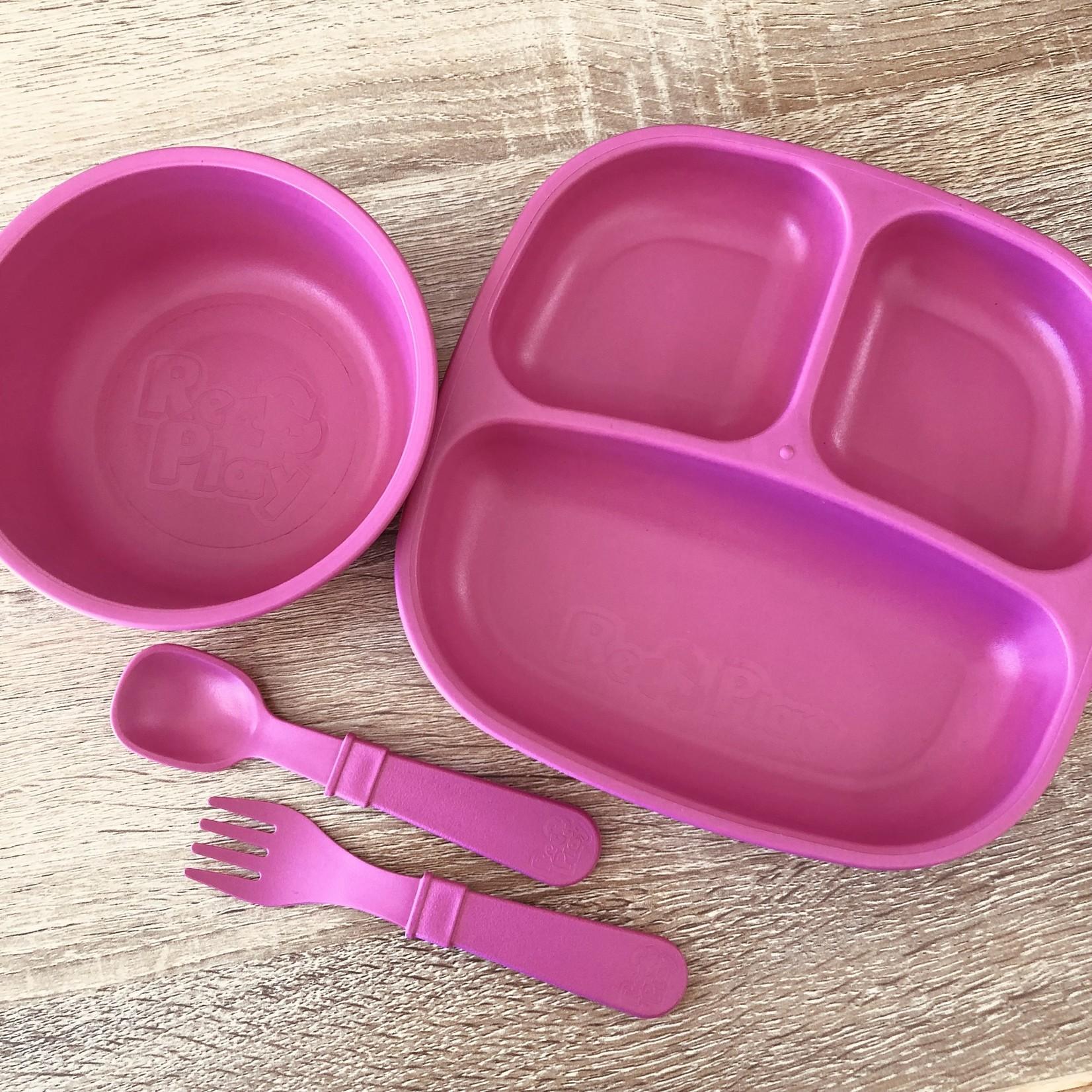 Replay Replay Dinner Set - Bright Pink