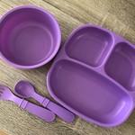 Replay Replay Dinner Set - Purple
