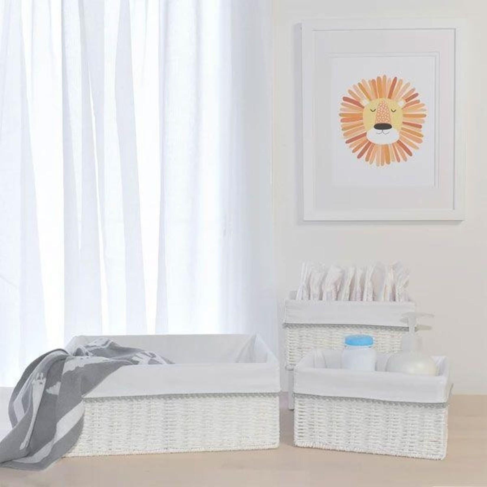 Living Textiles Living Textiles 3 Piece Nursery Set Grey