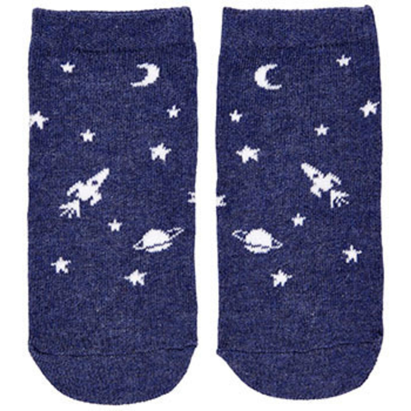 Toshi Toshi Organic Socks - Boys Intergalactic
