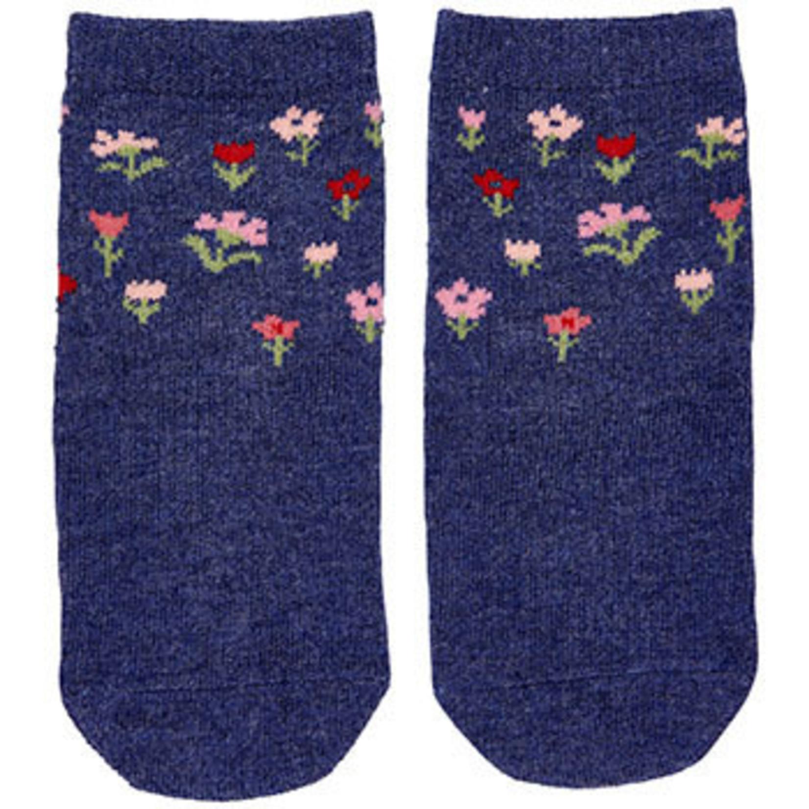 Toshi Toshi Organic Socks - Girls Periwinkle