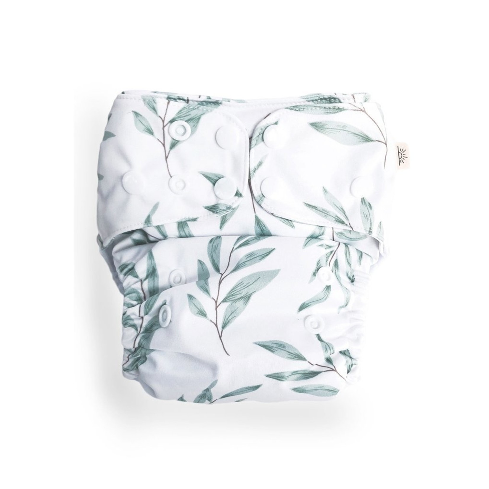 Econaps Econaps Modern Cloth Nappy Olive Leaf