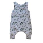 Mini Madz Mini Madz Knit Romper - Olive Leaf