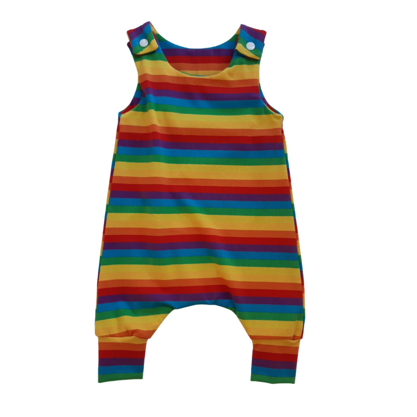 Mini Madz Mini Madz Knit Romper - Rainbow
