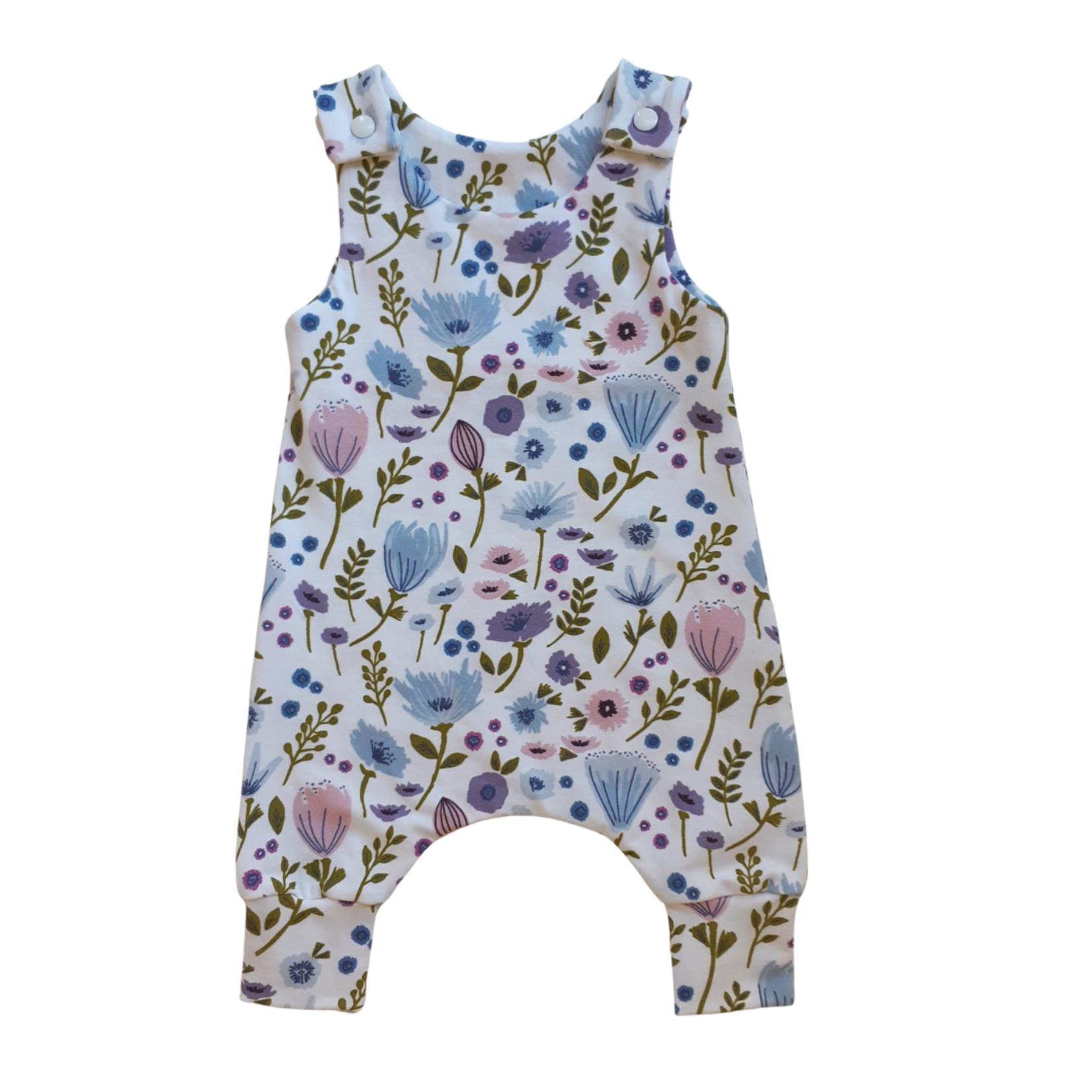 Mini Madz Mini Madz Romper - Lilac Floral 000