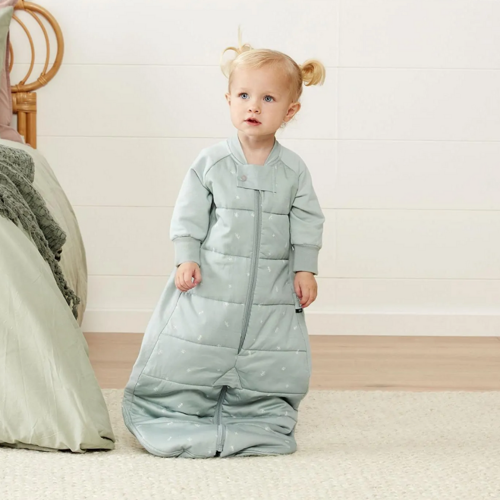Ergopouch ErgoPouch Sleep Suit Bag. 2.5 Tog. 2-4 Years. Sage
