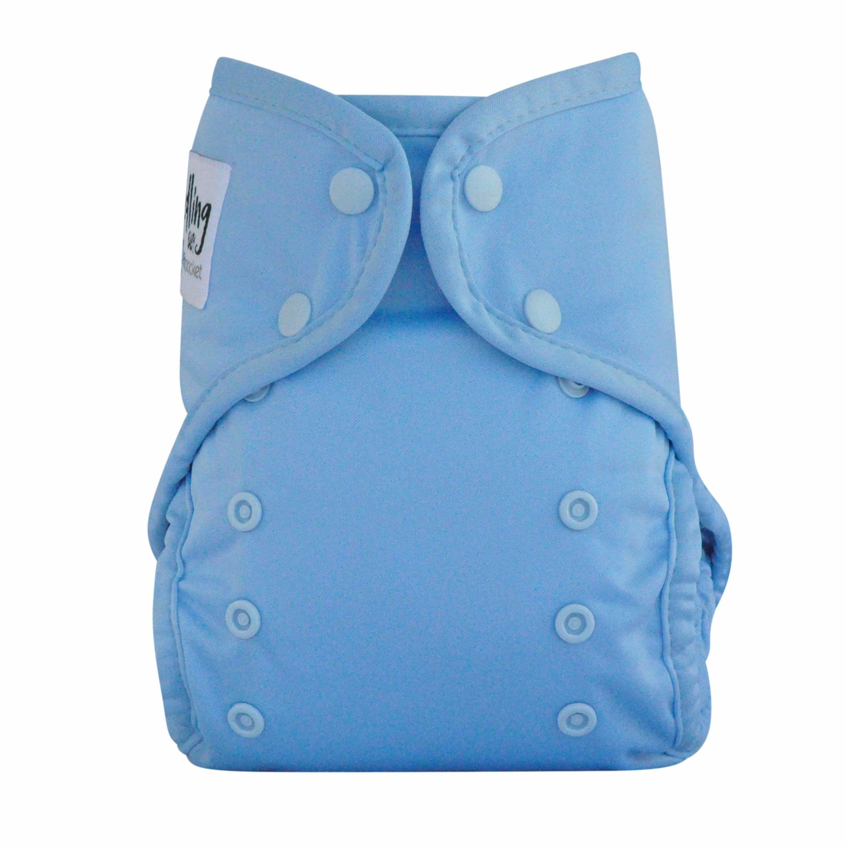 Seedling Baby Seedling Baby Multi Fit Nappy - Blue Tansy