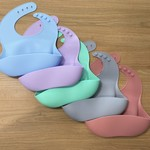 Family Products Australia Family Products  Silicone Bib - Blue