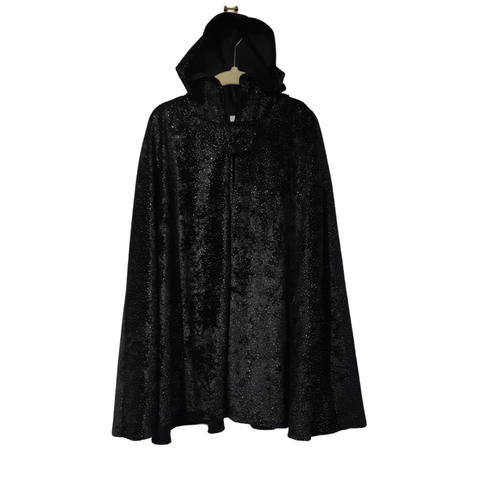 Wacky Wardrobe Wacky Wardrobe Cape Black Speckle - Medium