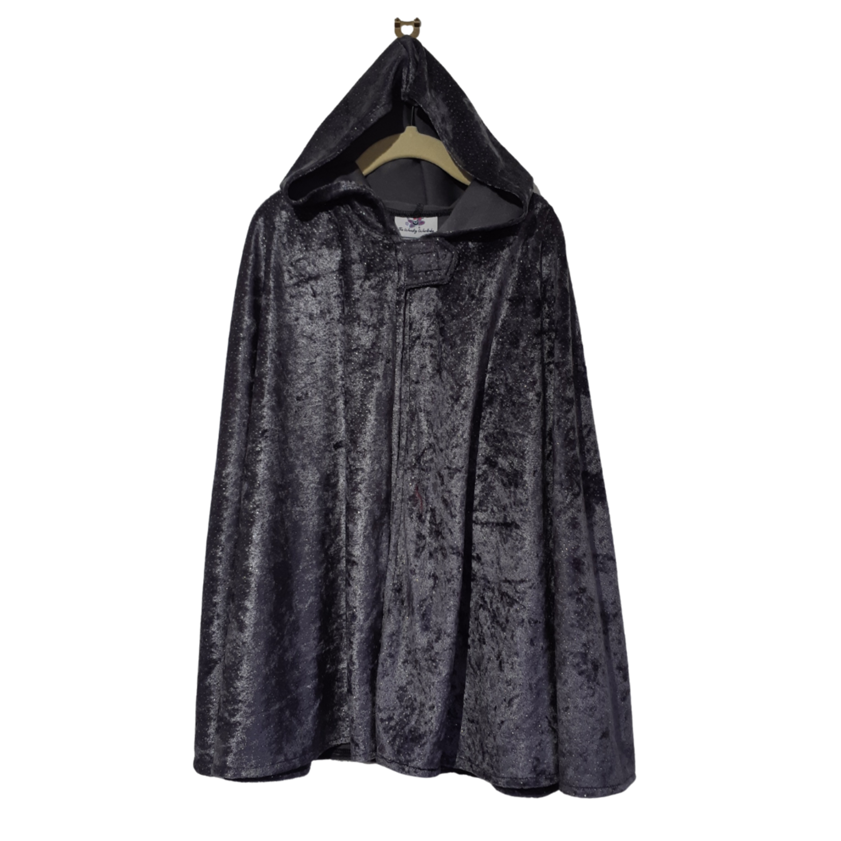 Wacky Wardrobe Wacky Wardrobe Cape Grey Speckle - Medium