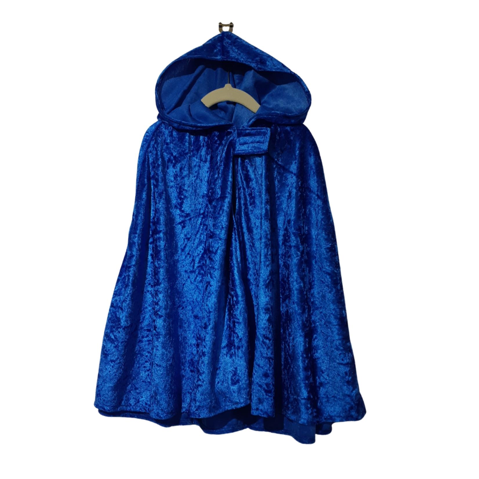 Wacky Wardrobe Wacky Wardrobe Cape Royal Blue - Medium