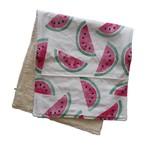 Mini Madz Mini Madz Organic Burp Cloth - Watermelon