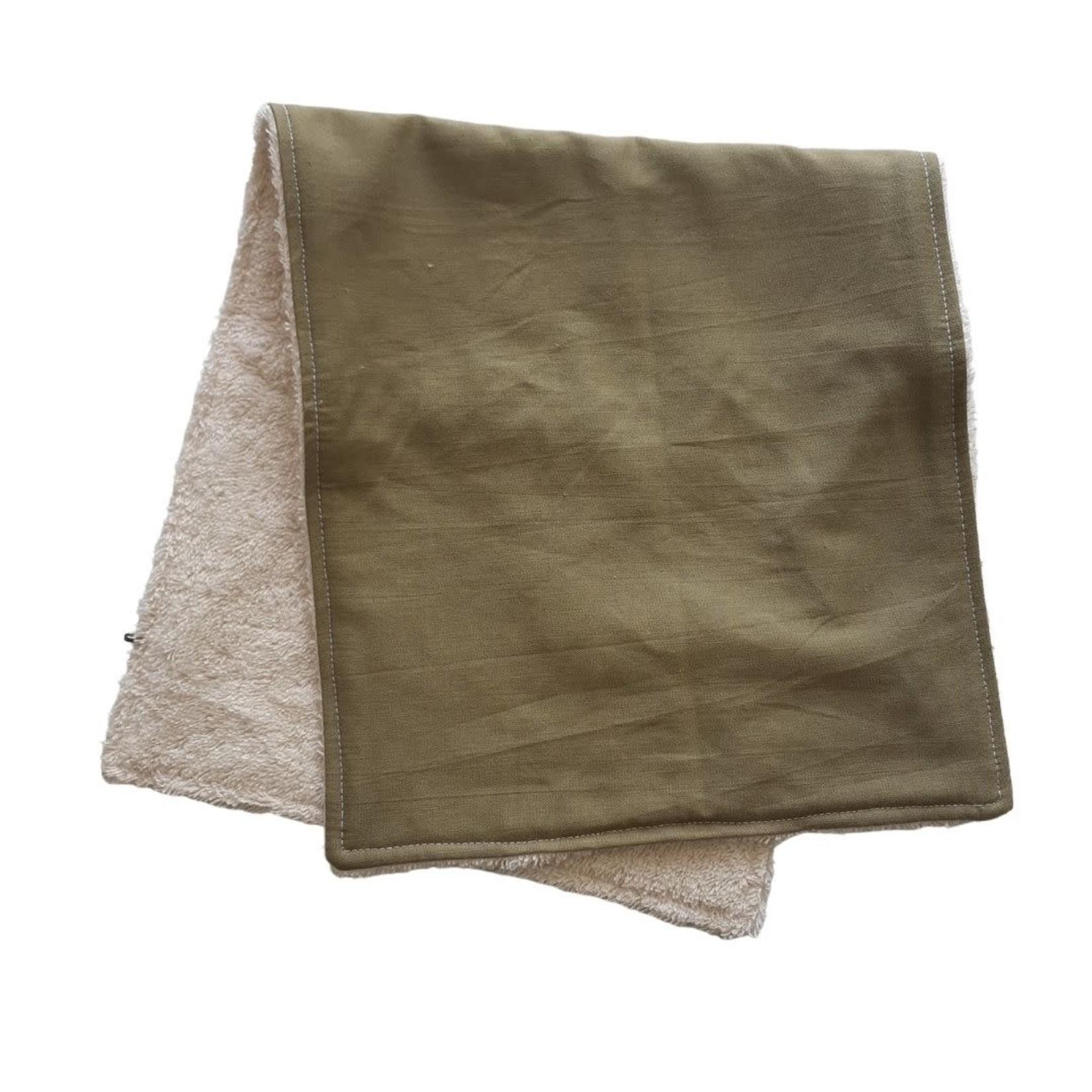 Mini Madz Mini Madz Organic Burp Cloth - Khaki