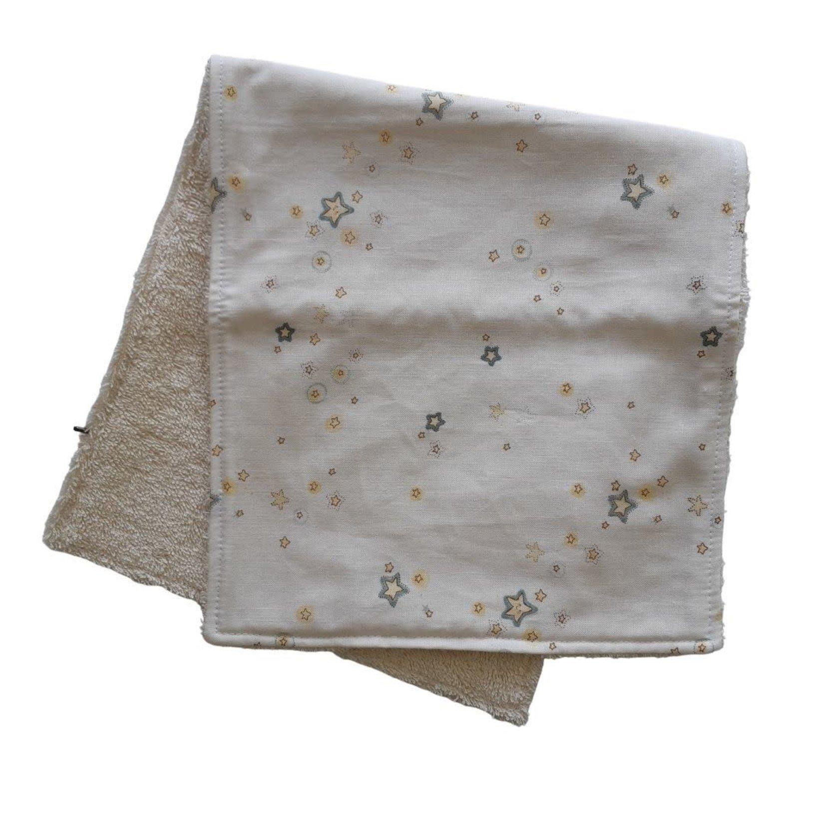 Mini Madz Mini Madz Organic Burp Cloth - Star