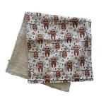 Mini Madz Mini Madz Organic Burp Cloths Sloths