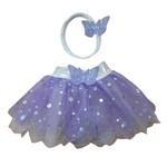 Wacky Wardrobe Wacky Wardrobe 38cm Tutu and Headband Set - Lilac