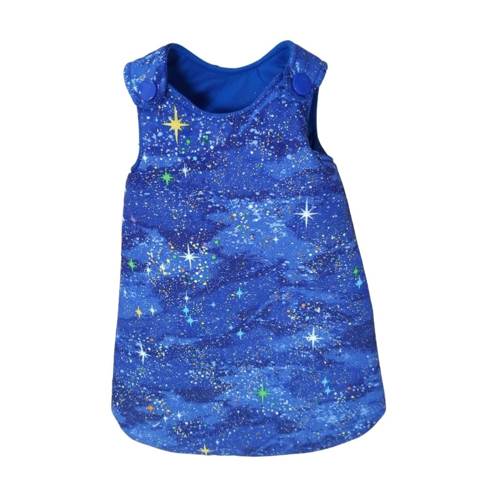 Wacky Wardrobe Wacky Wardrobe 38cm Doll Sleeping Bag Blue Sparkle