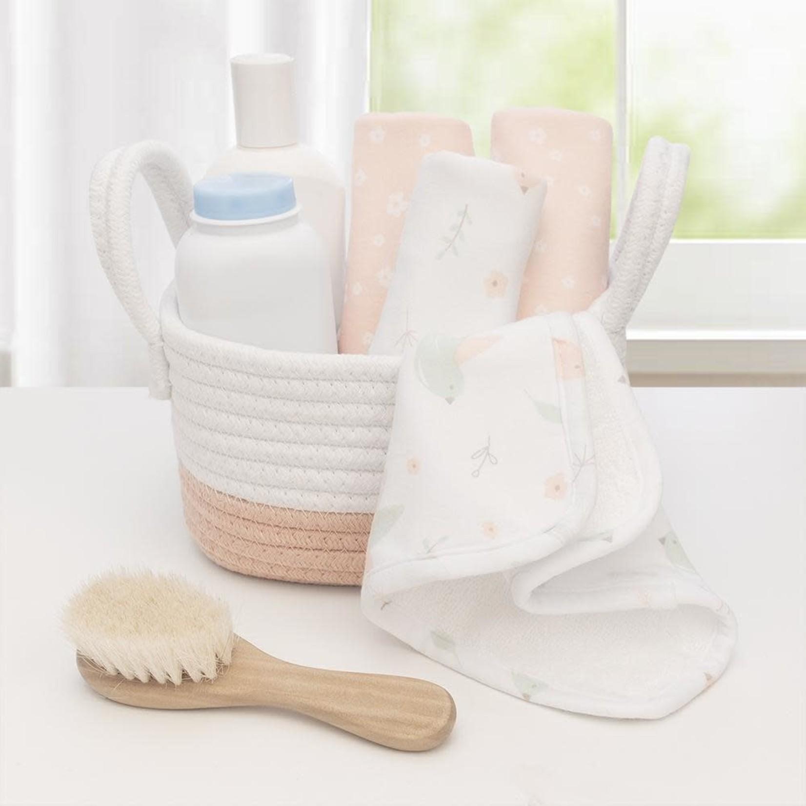 Living Textiles Living  Textiles Wash Cloths 4pk - Ava/Blush Floral