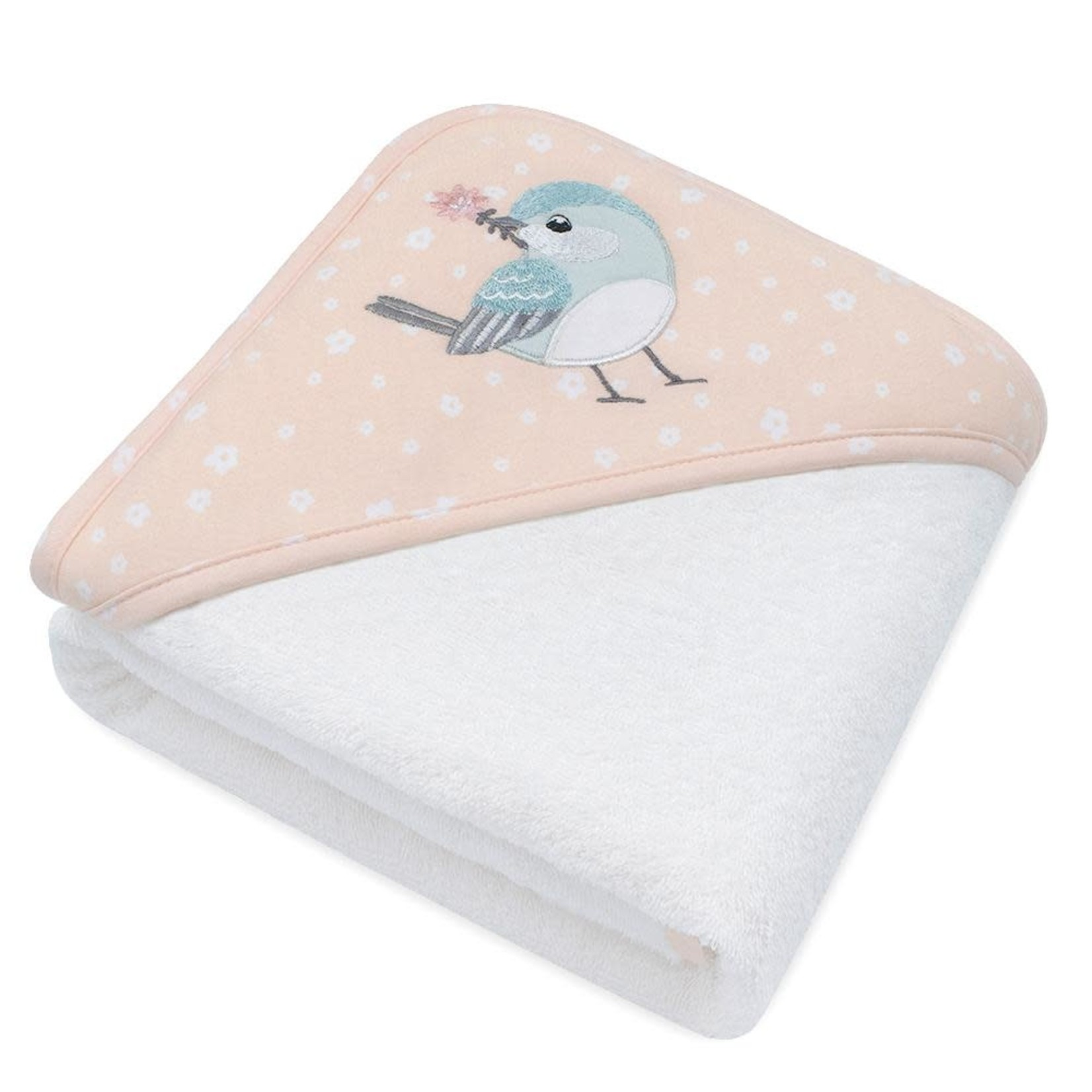 Lively Living Living Textiles Hooded Towel - Ava Birds