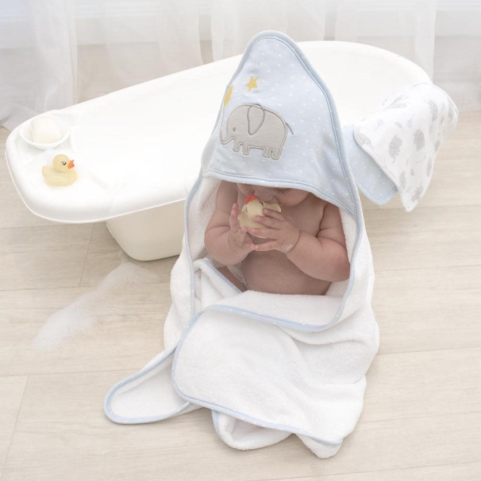 Lively Living Living Textiles Hooded Towel - Mason Elephant