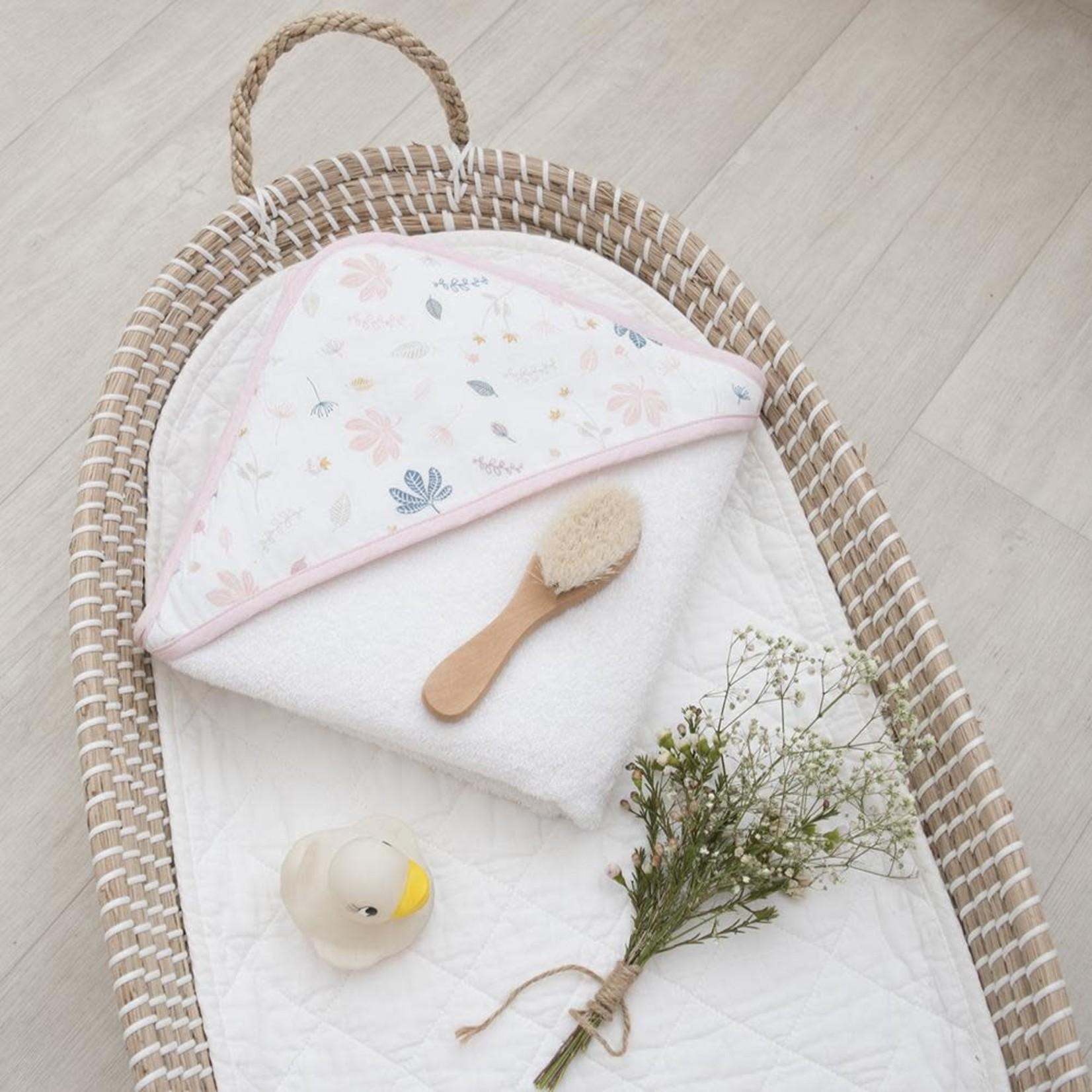 Living Textiles Living Textiles Organic Hooded Towel - Botanical