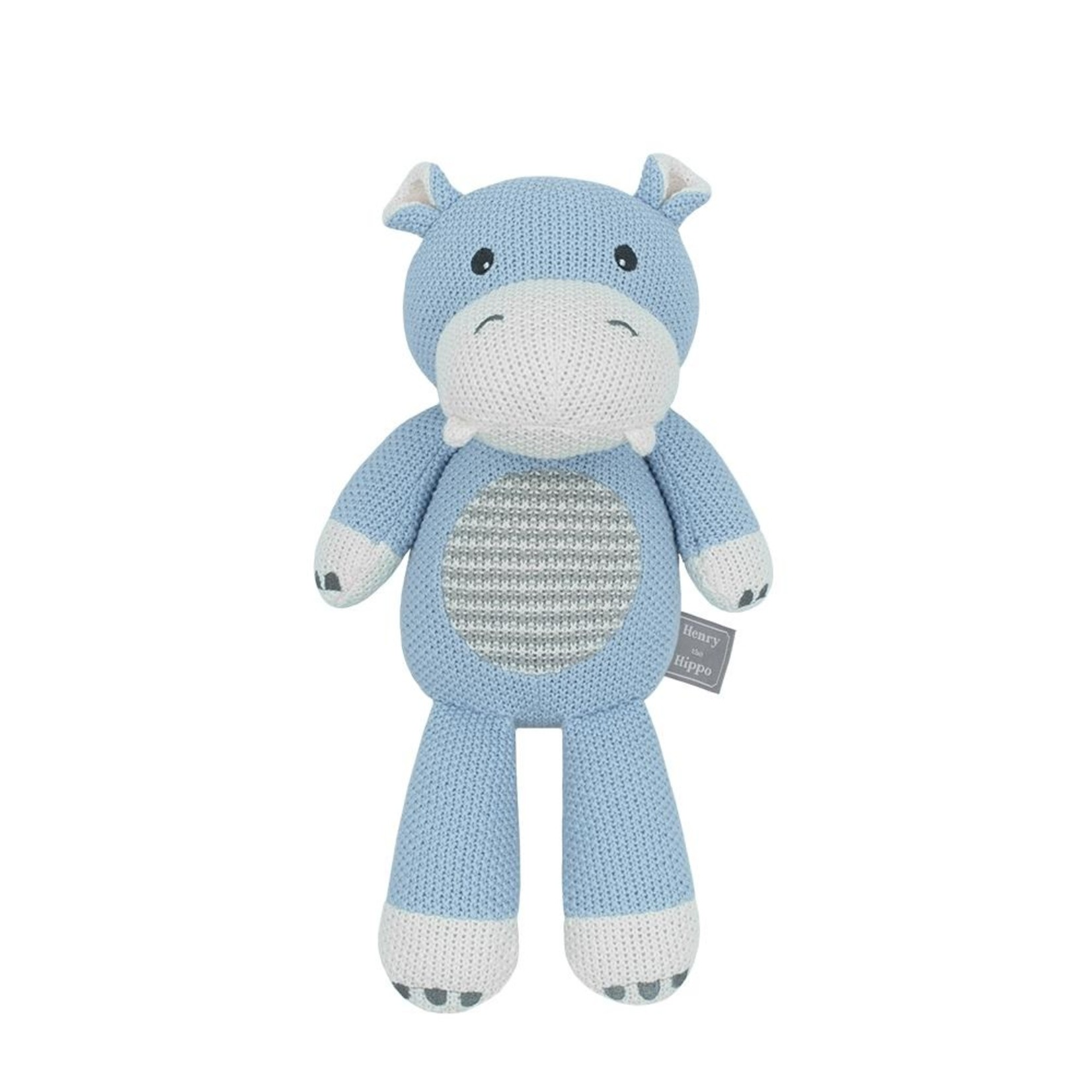 Living Textiles Living Textiles Whimsical Toy - Henry the Hippo