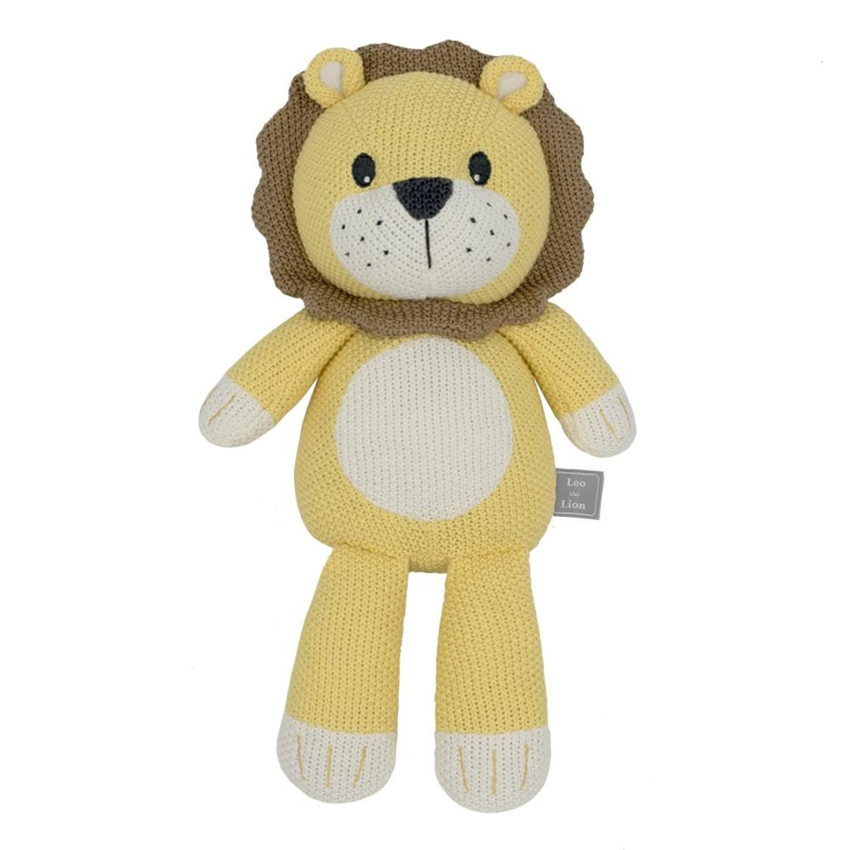 Living Textiles Living Textiles Whimsical Toy - Leo the Lion
