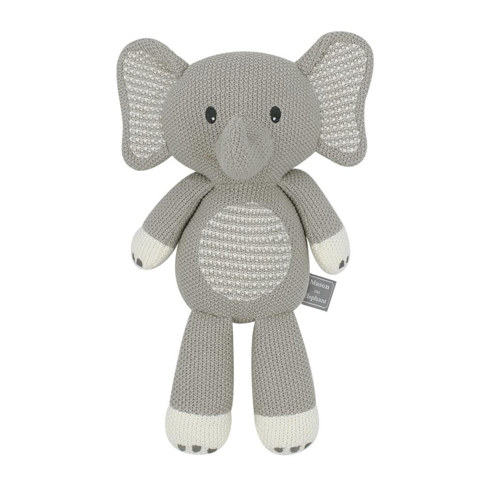Living Textiles Living Textiles Whimsical Toy - Mason the Elephant