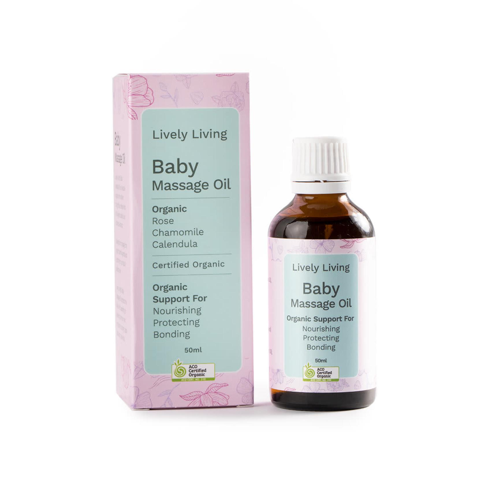 Lively Living Lively Living Organic Baby Massage Oil 50 ml