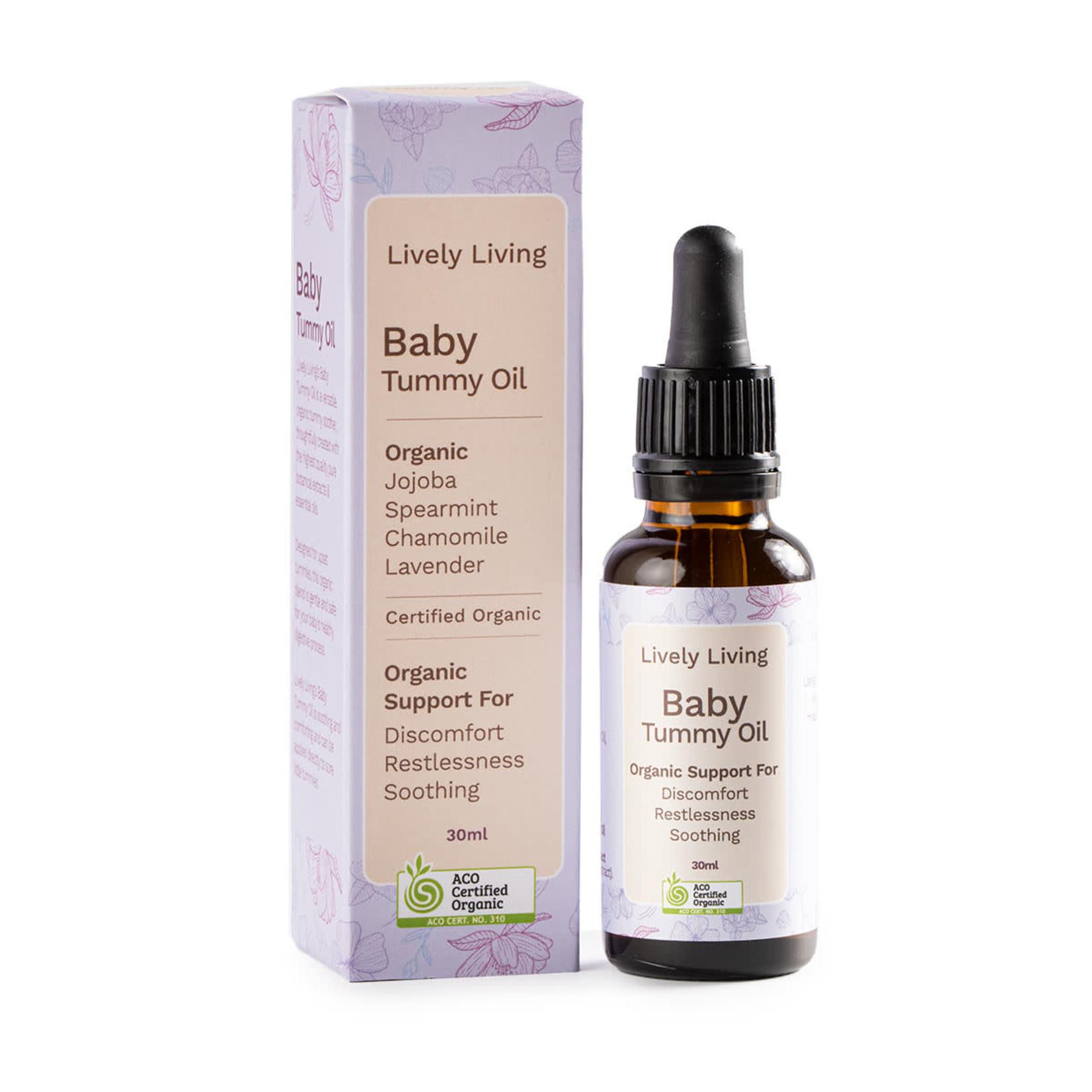 Lively Living Lively Living Organic Baby Tummy Oil 50 ml