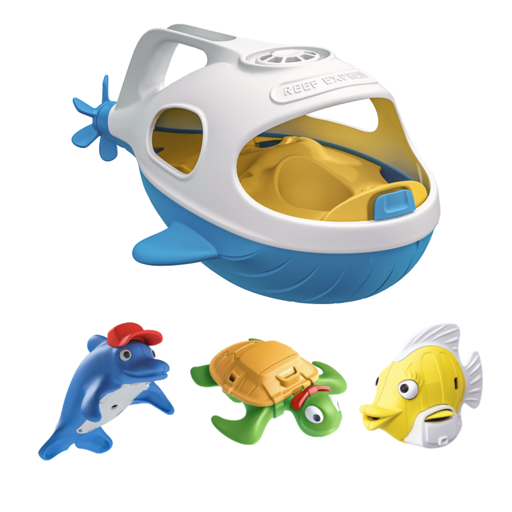 Happy Planet Toys Happy Planet Toys - Reed Express Bath Toy Set