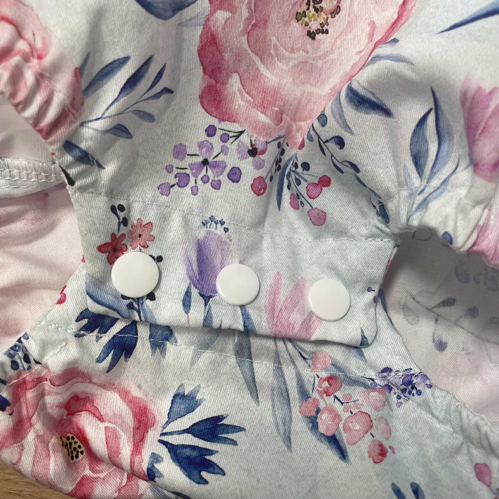 Cadby Cottage Cadby Cottage Seaside Romper - Watercolour Floral