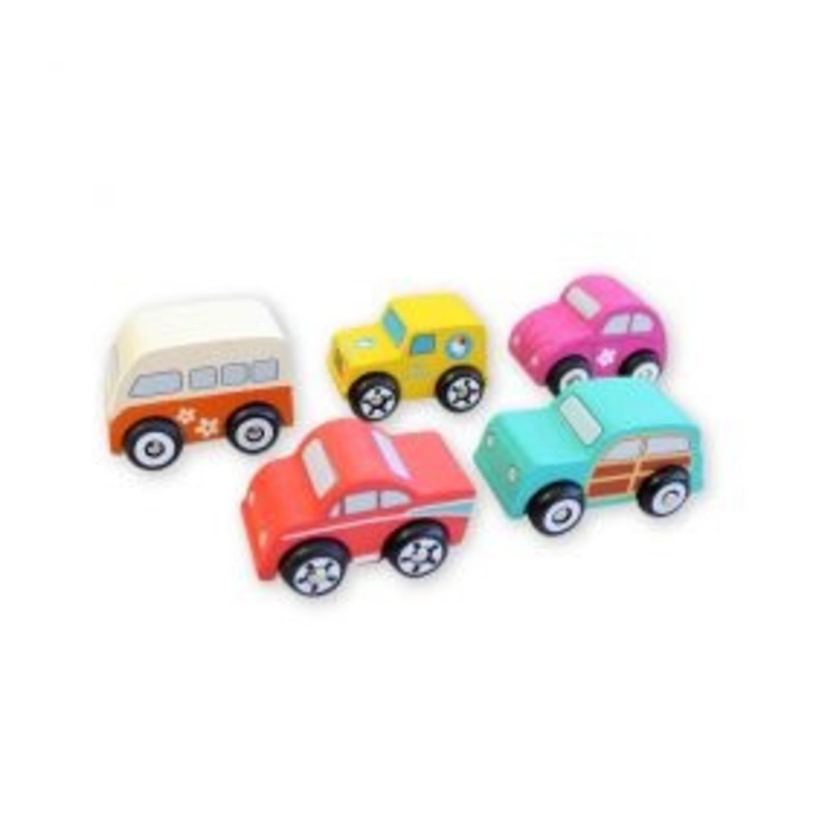 Baby Brands Discoveroo Beach Car Set (5 Cars)