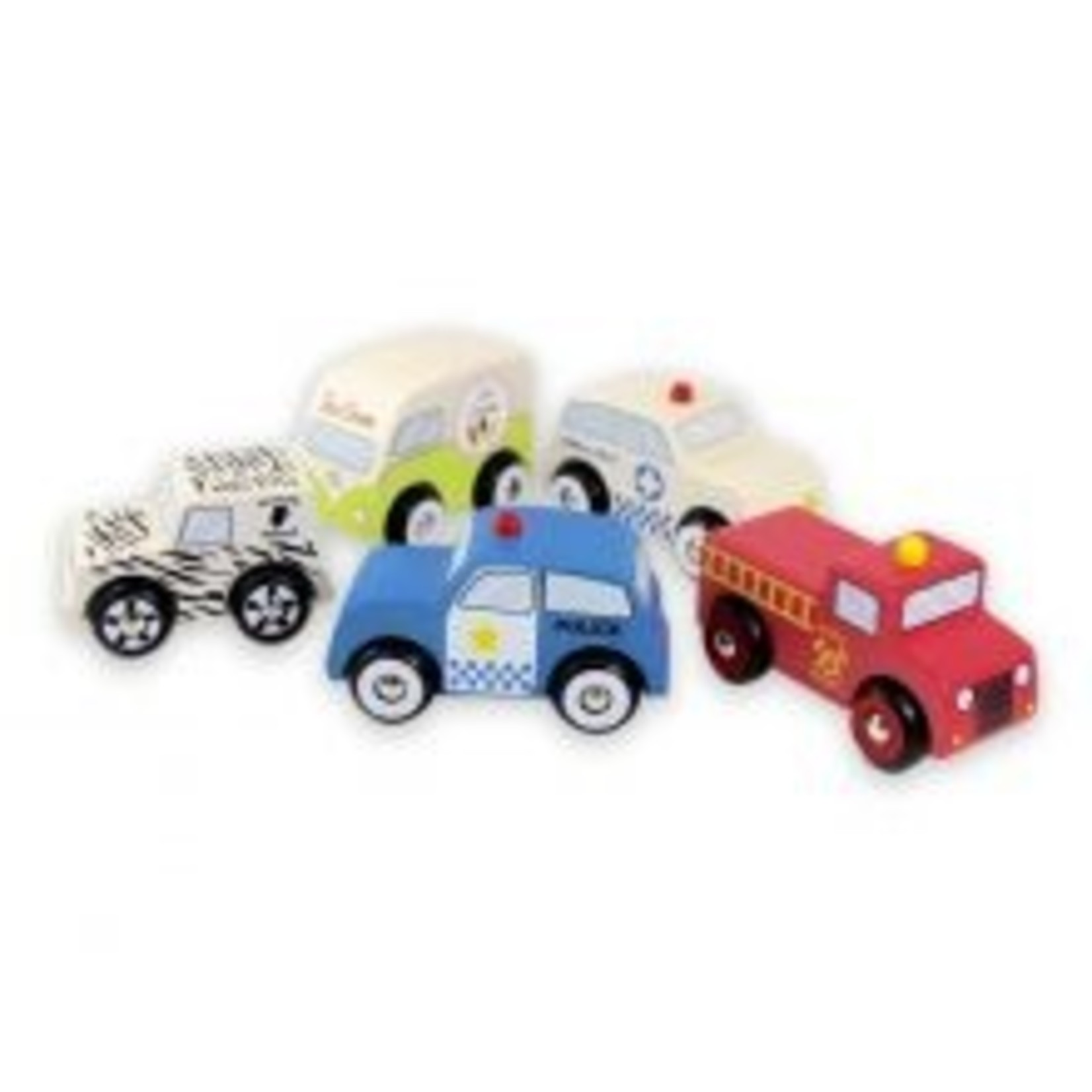 Baby Brands Discoveroo: Emergency Cars (set of 5)
