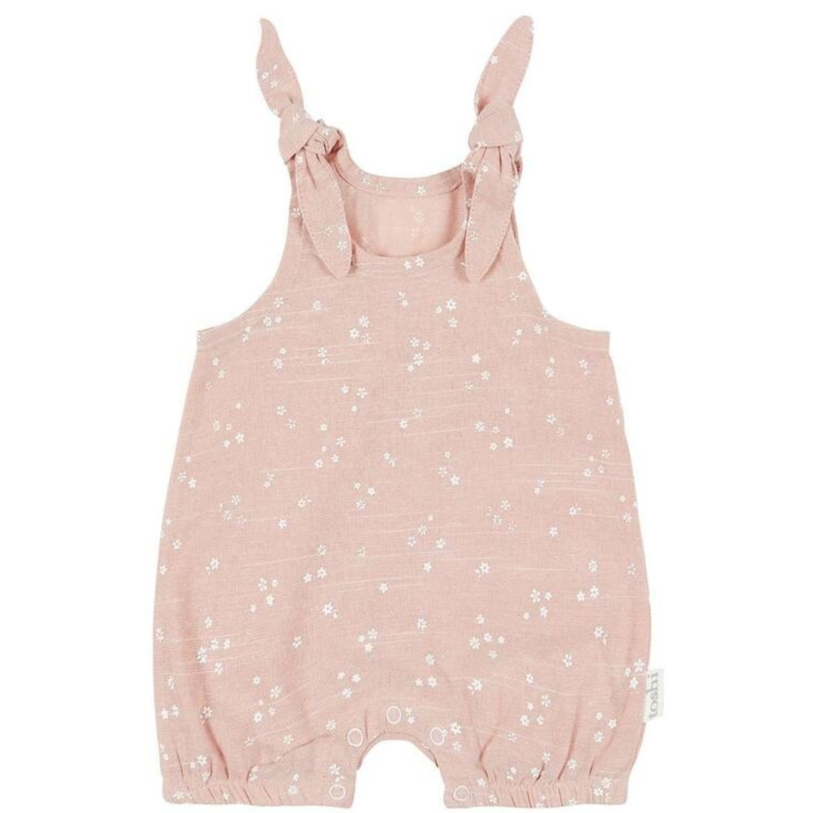 Toshi Toshi Baby Romper - Misty Rose